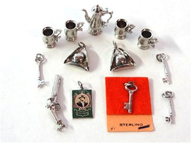 Colonial Williamsburg Sterling Dollhouse Miniatures
