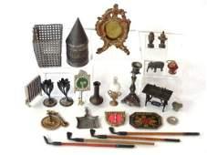 Antique Dollhouse Metal Accessories Miniatures