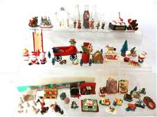 Large Collection Of Dollhouse Christmas Decorations