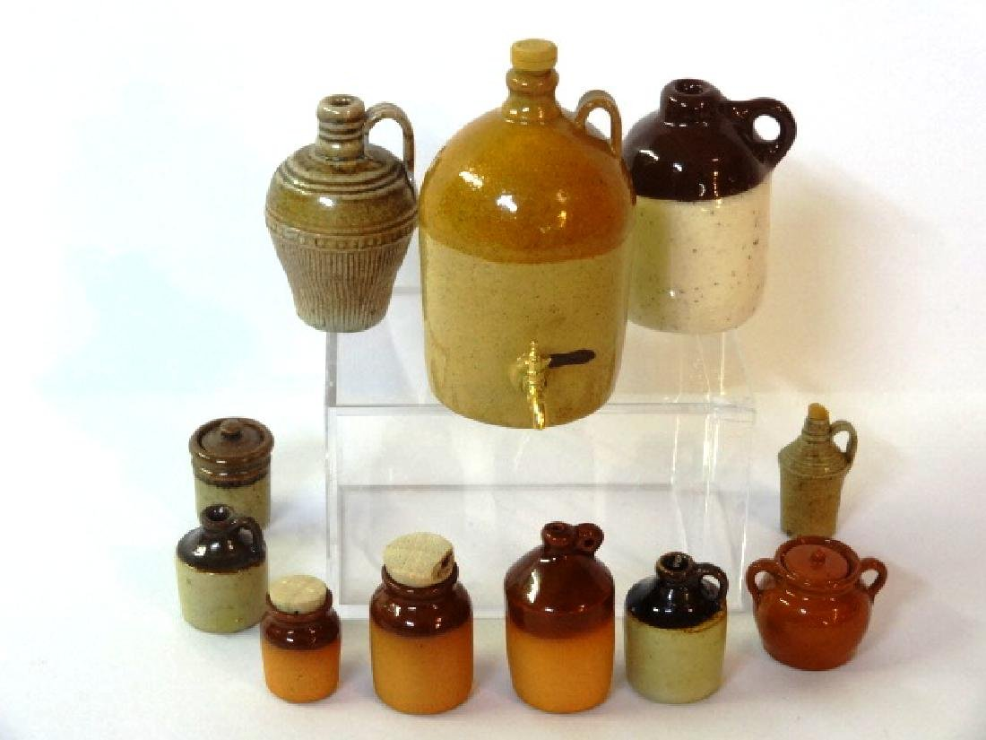 Jean Graber Dollhouse Stoneware Miniature & Others
