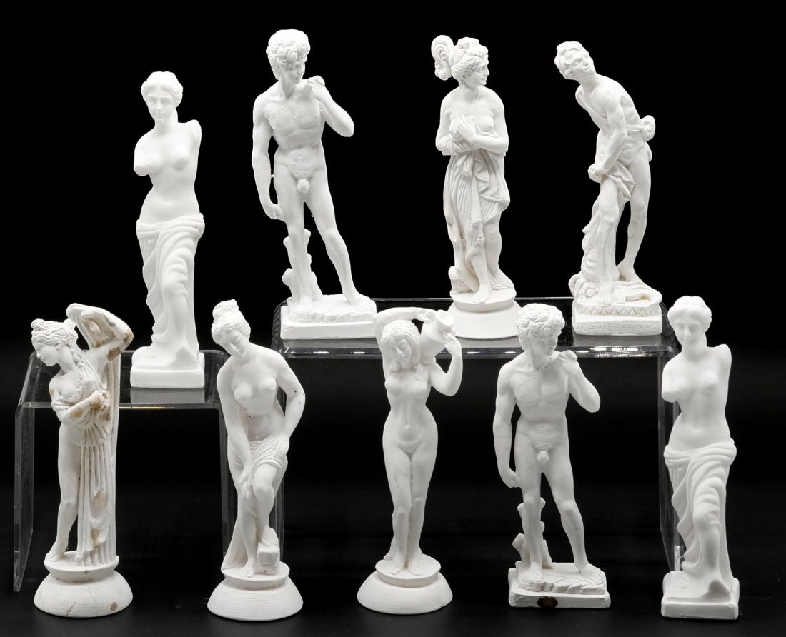 Classical Nude Plaster Statues
