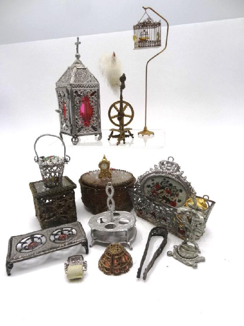Dollhouse Soft Metal Accessories Miniatures