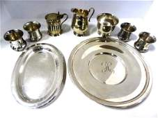 Sterling Silver Hollowware  Dishes
