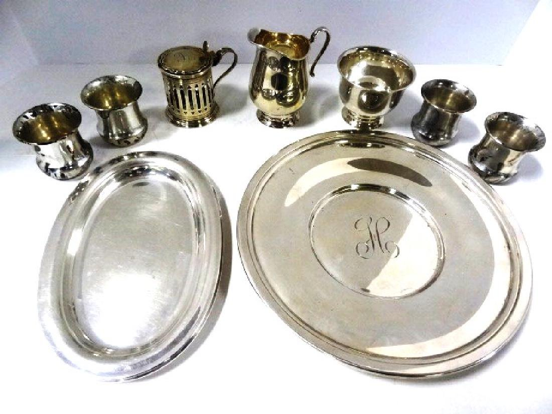 Sterling Silver Hollowware & Dishes