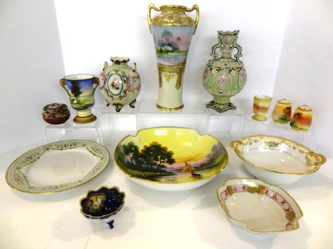 Group of Vintage Chinese Decorated China