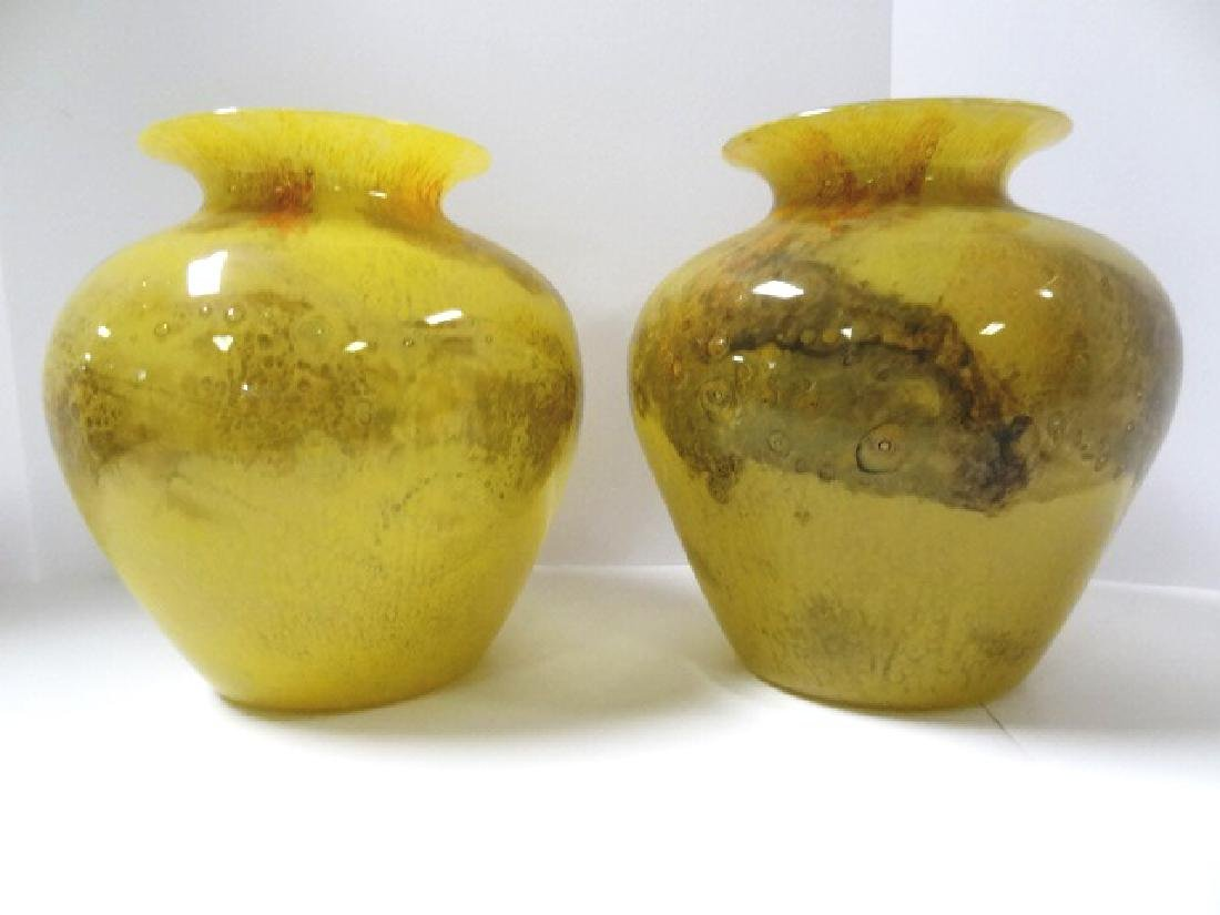 Durand Blown Glass Vases