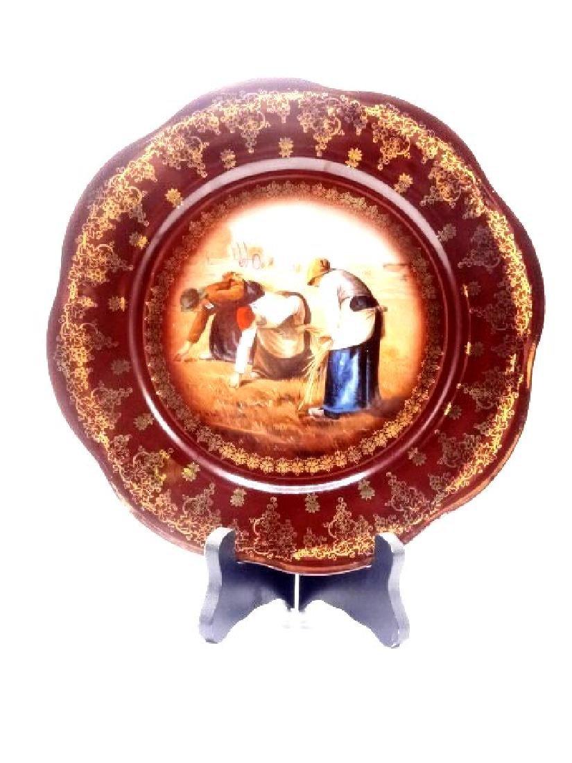 Royal Vienna Plate Sir Francis Milay