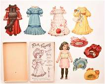 4 Raphael Tuck Dainty Dollies Paper Doll Sets