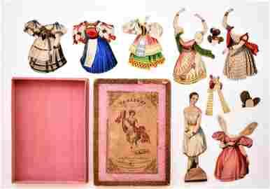 Taglioni, First Dancer Of Paris Paper Doll