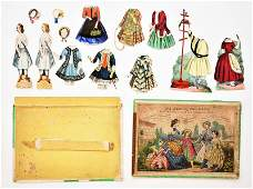 Die Kleine Pariserin Paper Doll Set