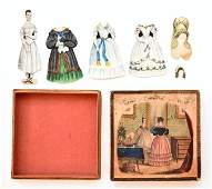 """""""The Doll"""" Early Boxed Paper Doll Set"""
