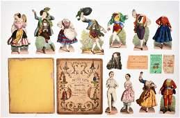 Jenny Lind Paper Doll Set