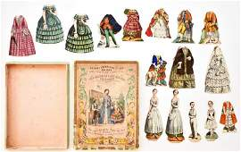 The American Lady And Her Children Paper Dolls
