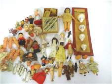 Dollhouse Miniature Dolls