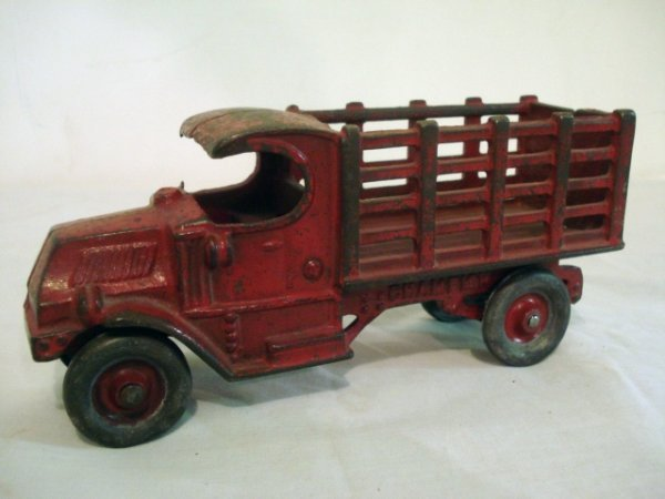 11: Champion Cast Iron Mack Stake Truck