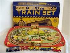 36: Mickey Mouse, Walt Disney Train Set ob