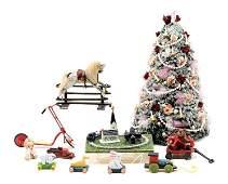 Artisan Toys  Xmas Dollhouse Miniatures