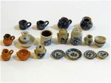 "Jane Graber 1/2"" Scale Ceramics & Others Dollhouse"