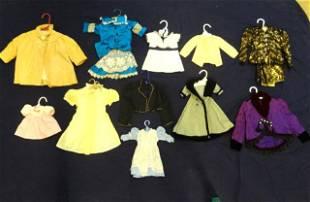 Eleven Doll Dresses