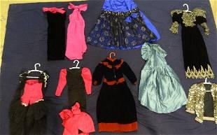 Seven Doll Dresses