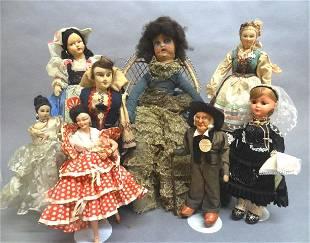 Lot European Dolls