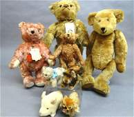 Teddy Bear Collection, Steiff and Eight Merry Thought