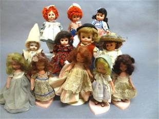 Madame Alexander Eight Inch Dolls Storybook and Others