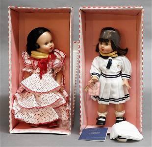 Pair Mariquita Perez Dolls