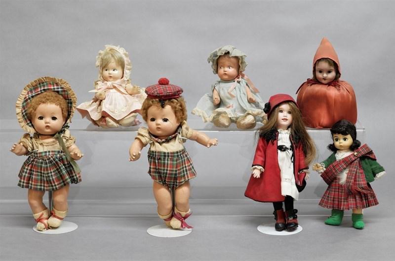 Collection Bisque, Composition, Lawton Dolls