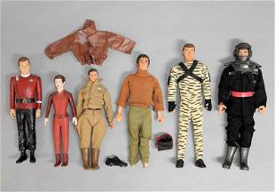 Vintage Marx Military Action Figures and Others