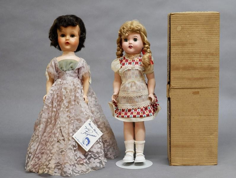 Marion Marlow and Mary Lu Doll