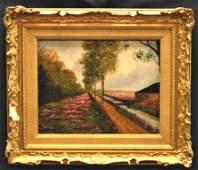 Vintage Landscape Painting