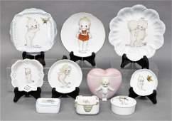 Betty Millet & Ballos Kewpie Ceramics