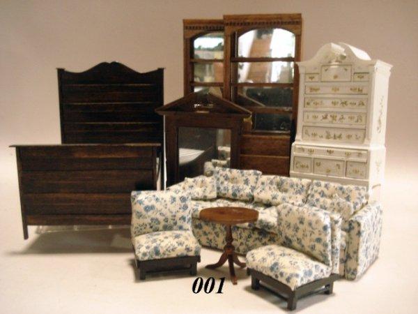 1: Jeanette Zanio Bookcases