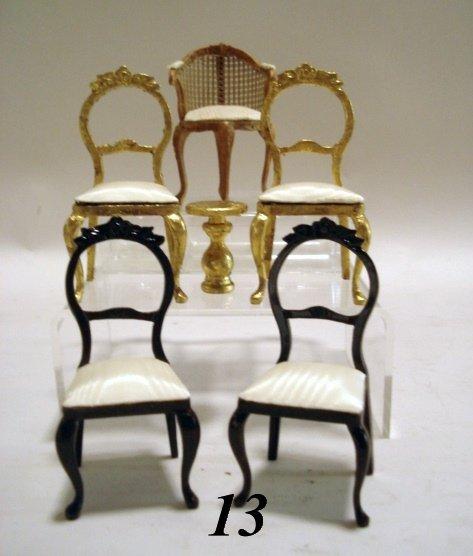 13: Bespaq Side Chairs & Coffee Table