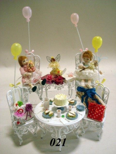 21: Victorian Birthday Party