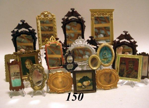 150: Dollhouse Mirrors