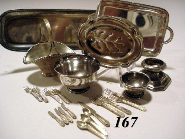 167: Sterling Baskets, Bowls