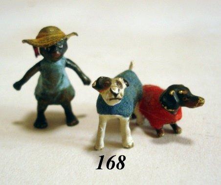 168: Vienna Bronze Figures