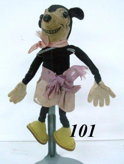 1101: Velvet Mickey Mouse