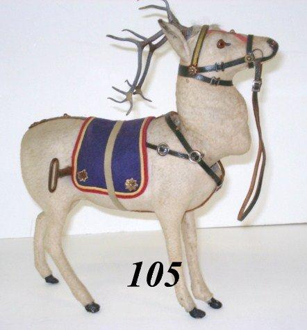 1105: Wind-up German Reindeer