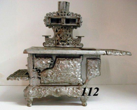 1112: Silver color Eagle stove