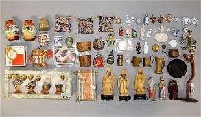Dollhouse China & Brass Accessories