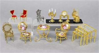 Dollhouse Limoges Furniture & Others
