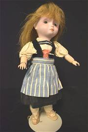 Bisque Doll FRENCH BISQUE POULBOT CHARACTER