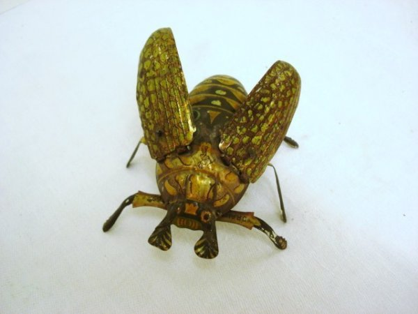 6007: Tin Wind-up Dragon Fly