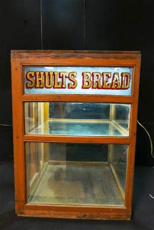 Shults Bread Country Store Display Case
