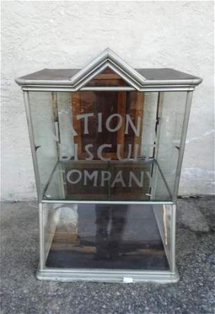 Large National Biscuit Co. Store Display Case