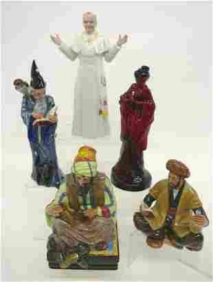 Five Royal Doulton Large Figurines