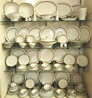 Antique Haviland Porcelain 94 Piece Set